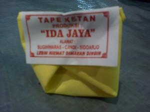Tape Ketan Sidoarjo