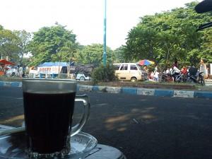 Menikmati pagi di Sidoarjo